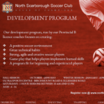 Register NOW- NSSC Indoor Development Program